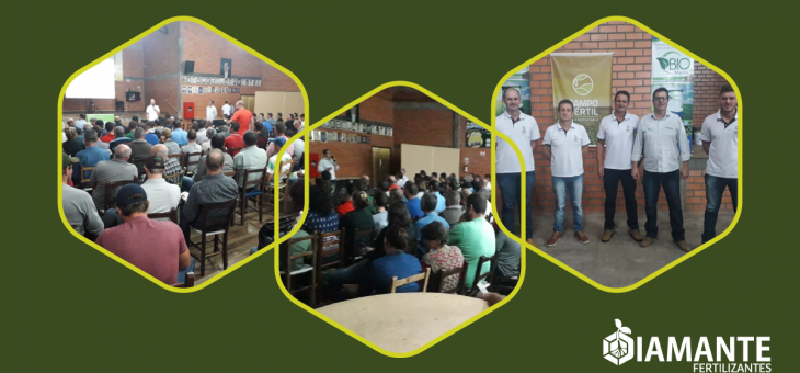 Agrônomo da Diamante Fertilizantes realiza palestra  em  Marau