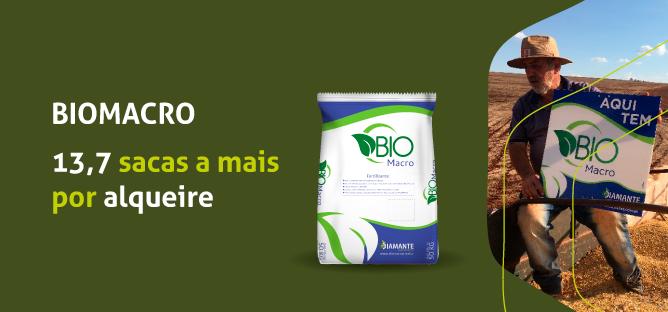 Produção recorde de soja com uso de BIOMACRO.