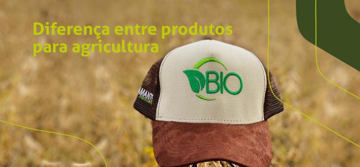 Diferença entre produtos para agricultura